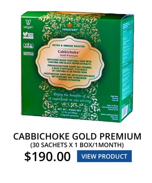 Cabbichoke Gold Premium 1 Box